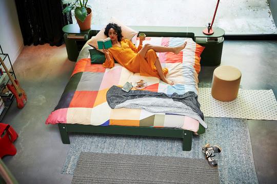 Slaapkamer Bedden Auping.Auping Introduceert Nieuw Kleurenpalet In De Slaapkamer A Fashion