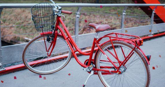 6268b64fbeb Rode stadsfiets van Ortler Copenhagen