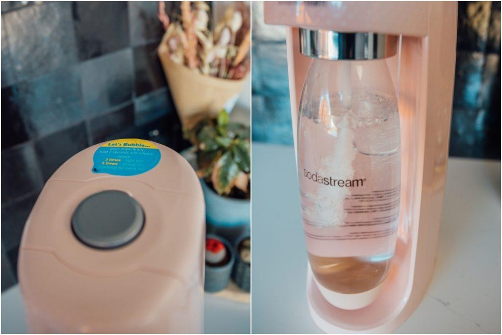 Sodastream, bubbels en spuitwater